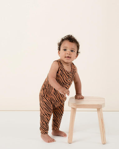 Tiger Jumpsuit - Bronze