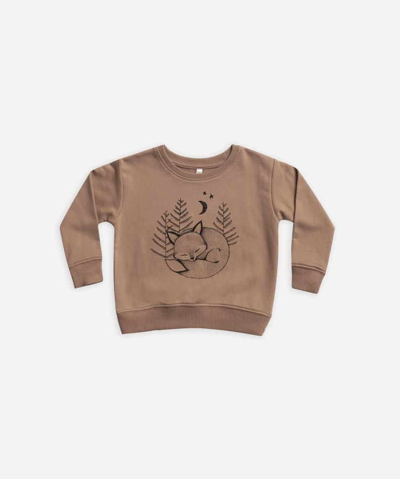 Load image into Gallery viewer, Kids Fox Dreams Sweatshirt Rylee + Cru