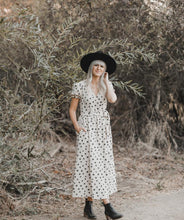 Load image into Gallery viewer, Rylee + Cru Winter Flowers Wrap Dress