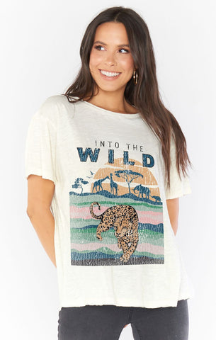 Copper Tee - Into the Wild Graphic