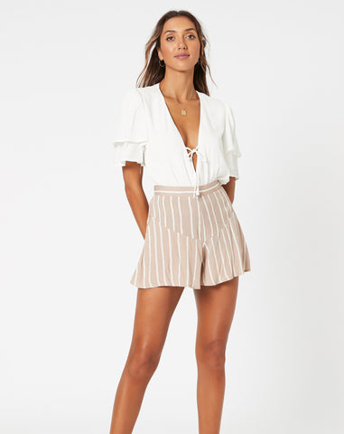 Wanderlust Woman Short - Taupe
