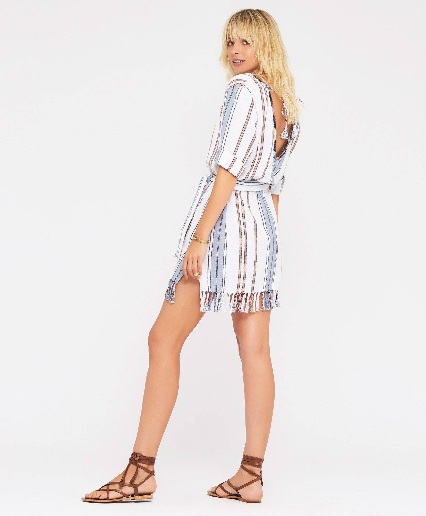 Load image into Gallery viewer, San Marcos Tunic Dress by Tigerlily