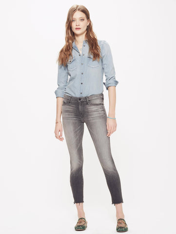 Looker Ankle Fray Jean - Bohemian Mama