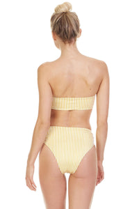 Symone Bottom in Saffron from Tori Praver - Womens Swim