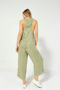 Saga Racer Back Jumpsuit from Mink Pink for Women
