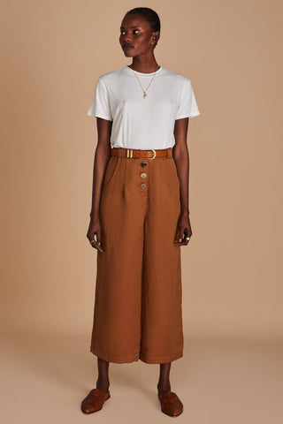 The Isabel Pants Mocha