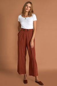 Sanica The Maja Pants | Maja Pants Cinnamon Sancia The Label