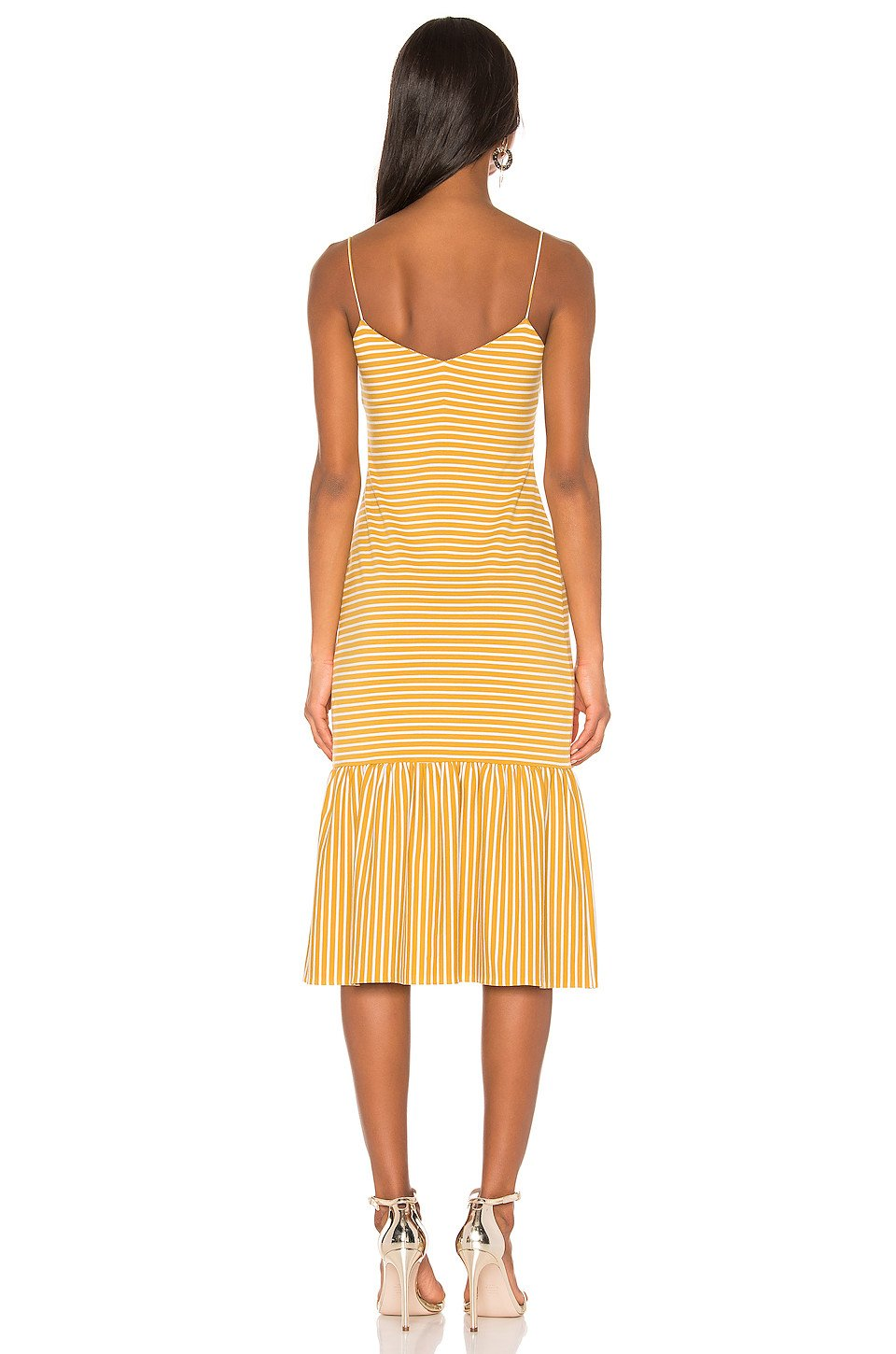 Doris Dress in Mustard