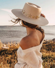 Load image into Gallery viewer, Seaside Boater Hat by Lack of Color
