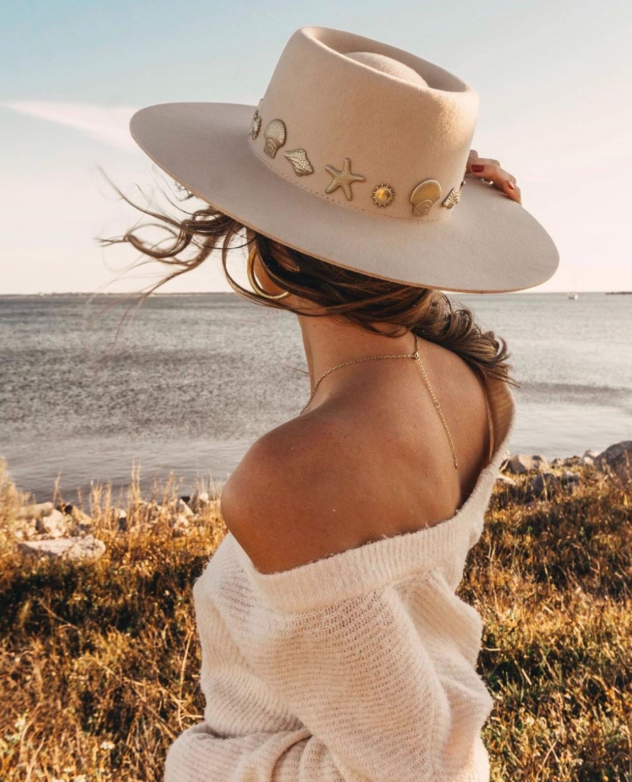 Seaside Boater Hat by Lack of Color