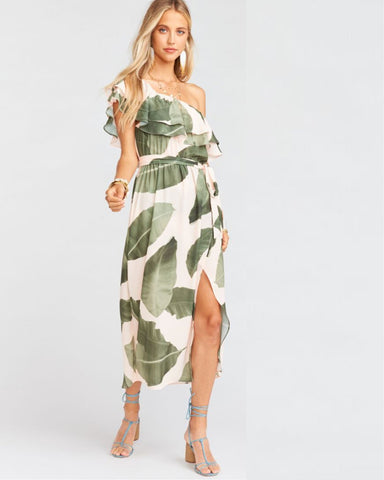 Rosie Dress Queen Palms