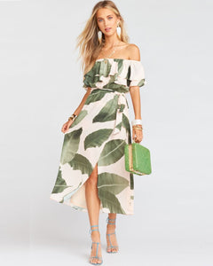 Rosie Dress Queen Palms | Show Me Your Mumu | Women's Dresses
