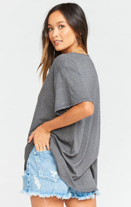 Show Me Your Mumu Airport Tee Free as a Bird Graphic | Oversized Tees
