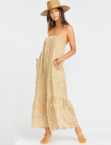 Show Me Your Mumu Anaya Maxi Desert Cheetah | Women's Maxi Dresses
