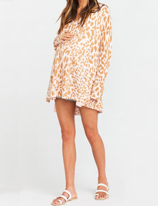 Show Me Your Mumu Cliffside Sweater Pink Leopard Knit | Womens Pink Leopard Sweaters