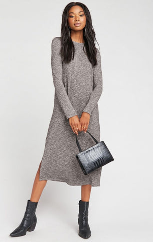 Maddison Dress - Mountaintop Sweater Knit