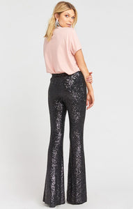 Show Me Your Mumu Mercury Bells Limelight Sequins Party Pants