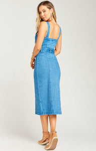 Theresa Dress in Betta Blue from Show Me Your Mumu | Womens Dresses