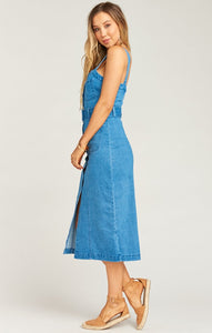 Theresa Dress in Betta Blue from Show Me Your Mumu | Womens