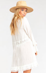 Sicily Mini Dress in White by Show Me Your Mumu | Flowy Dresses