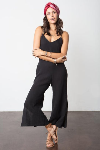 Side Slip Jumpsuit