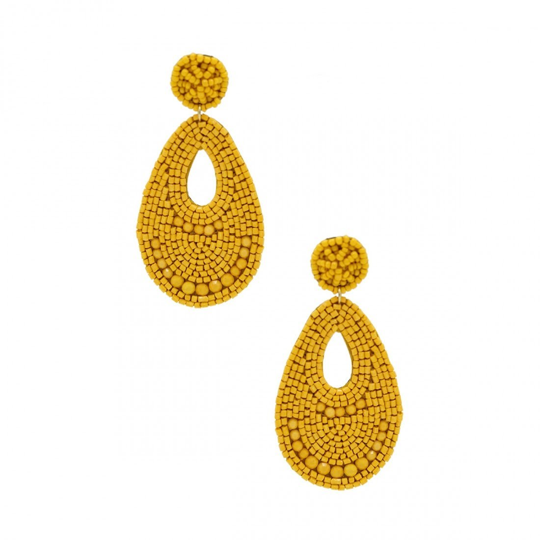 Skylight Earrings - Yellow from 8 Other Reasons
