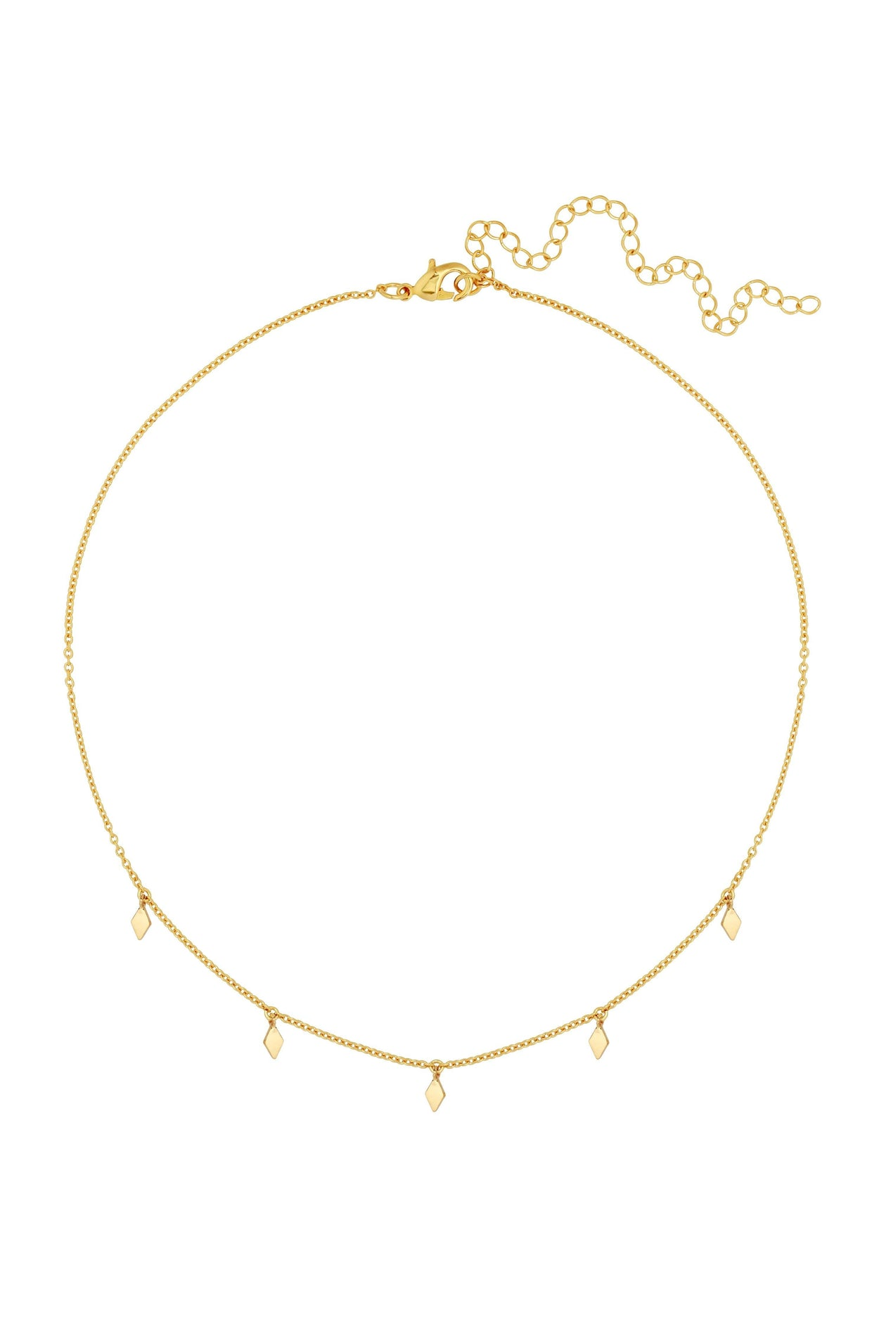 Sofia Choker in Gold by Five and Two for Women