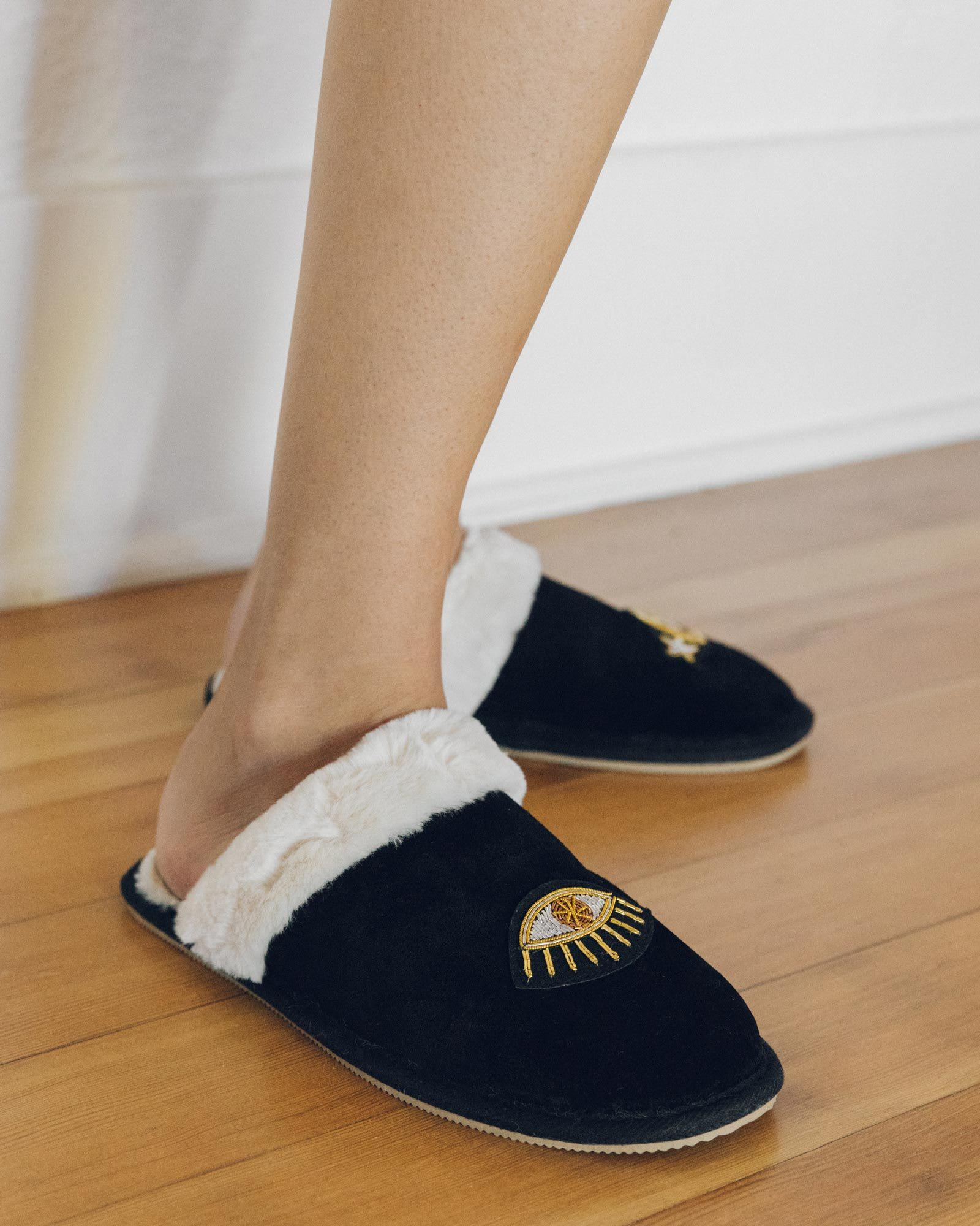 Load image into Gallery viewer, Celestial Cozy Slipper