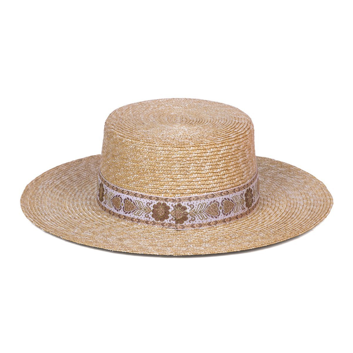 Load image into Gallery viewer, Spencer Boater Special Women's Summer Hat by Lack of Color