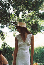 Load image into Gallery viewer, Spencer Boater Special Women's Straw boater Hat by Lack of Color