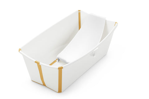 Stokke Flexi Bath Bundle White Yellow