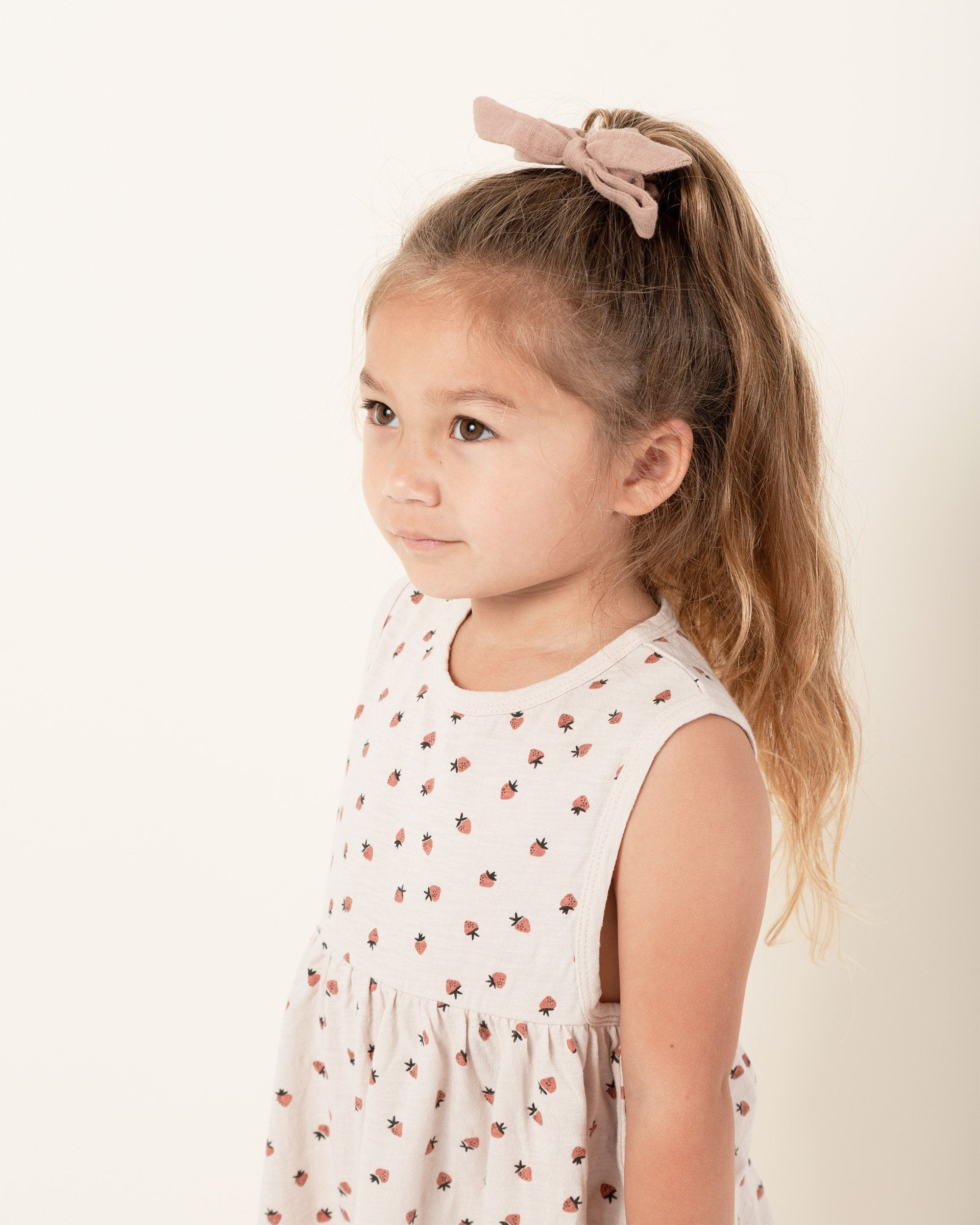 Load image into Gallery viewer, Girls Strawberry Layla Dress Rylee + Cru