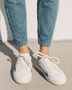 Sunrise Sunset Sneaker - White