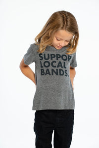 Support Local Bands Triblend Crewneck Tee from Chaser Kids | Bohemian Mama