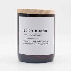 Dictionary Meaning Candle - Earth Mama - Byron Bay