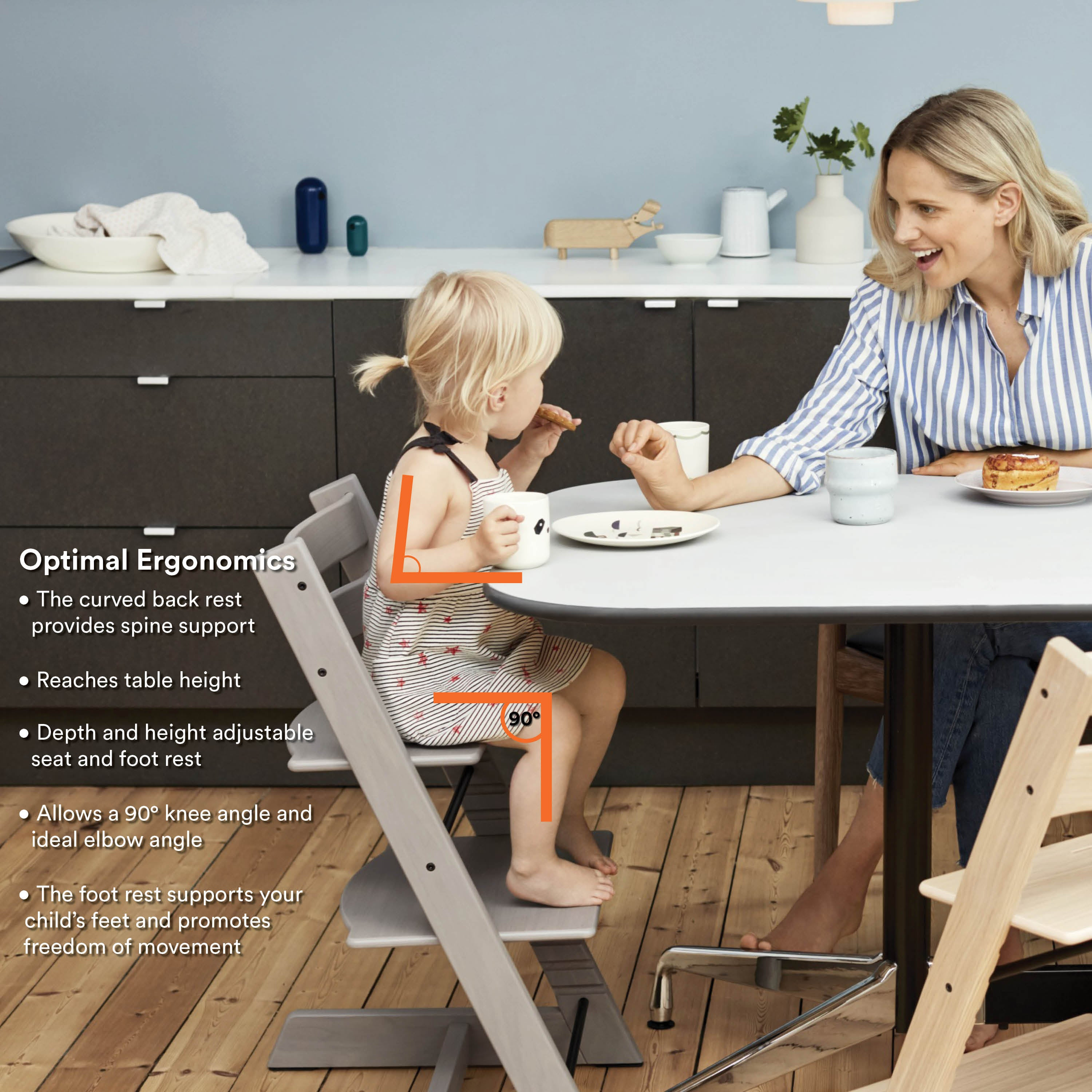 Load image into Gallery viewer, tripp trapp high chair complete example