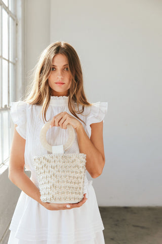 Tanner Party Bag - Ivory