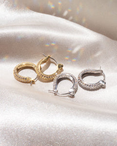 The Antoinette Huggies - Silver | Luv AJ - Holiday 2020 | Women's Jewelry