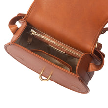 Load image into Gallery viewer, Women's Sancia Babylon Bar Bag in Cognac