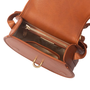Women's Sancia Babylon Bar Bag in Cognac