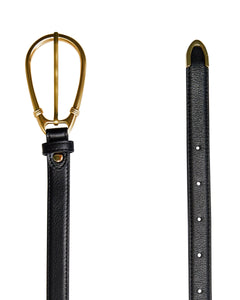 The Élysées Belt in Black by Sancia | Accessories