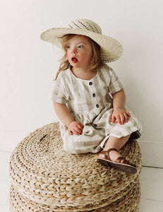 The Humble Soles Laguna Sun Hat | Handmade Kids Beach Hats