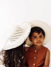 Load image into Gallery viewer, The Humble Soles Laguna Sun Hat | Handmade Kids Beach Hats