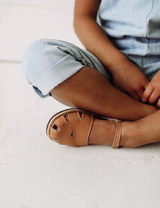 The Humble Soles Rio Sandals Honey | Little Girl Sandals