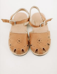 The Humble Soles Rio Sandals Honey | Little Girl  Handmade Sandals