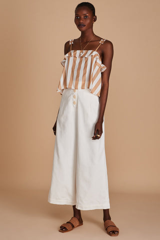 The Marquesa Top Sancia Lamaire Stripe
