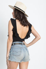 Load image into Gallery viewer, The Ruffle Back Bodysuit