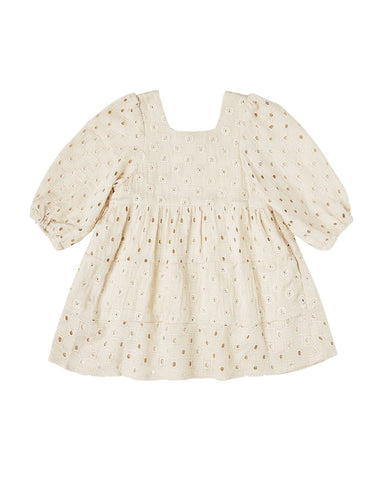 Greta Baby Doll Dress - Natural