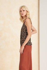 Colca Bias Cami Top in Leopard by Tigerlily | Bohemian Mama