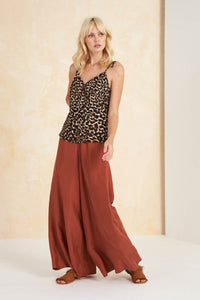 Colca Bias Cami Top in Leopard by Tigerlily | Camis